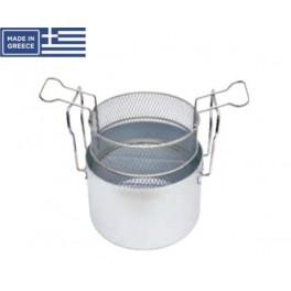 Φριτούρα Ματ 15,3 L. Φ 32 Χ 19 Υ.cm Αλουμινίου Chef Series
