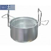 Φριτούρα Ματ 30,1 L. Φ 40 Χ 24 Υ.cm Αλουμινίου Chef Series
