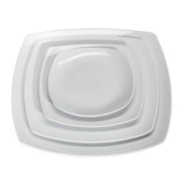 TETRA Πιάτο Τετράγωνο Διαγ. 18 cm Πλατ. 16 cm