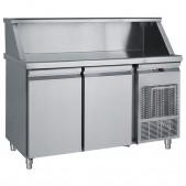 Ψυγείo Πάγκος 155cm με Πάσο MM 155