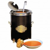 Σουπιέρα Hot Pot Μαύρη