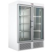 Ψυγείο Θάλαμος Βιτρίνα Κατάψυξη UPF 137 Λευκό
