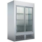 Ψυγείο Θάλαμος Βιτρίνα Inox Με Συρόμενες Πόρτες UBS 137 Λευκό