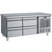 Ψυγείο Πάγκος Χαμηλό Με 4 Συρτάρια PS 140