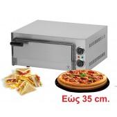 Φούρνος πίτσας με πυρότουβλο FP36R
