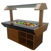 Θερμαινόμενο Salad Bar Budget 144 cm