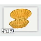 Ψωμιέρα Οβάλ Rattan Φ 23x15x6.5