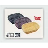 Ψωμιέρες Ορθογώνιες Rattan Φ 24x18x8