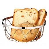 Ψωμιέρα Inox Φ 23x9 cm APS