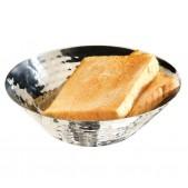 Ψωμιέρα Inox Σφυρήλατη Φ 20x5,5 cm APS