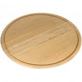 Πιάτο Ξύλινο με Λούκι Φ40 cm