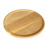 Ξύλινο Πιάτο Βαθύ (Μεγάλο Ρίμελ) 35 cm