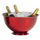 Ποντσιέρα - Σαμπανιέρα Inox - Κόκκινο 40 cm Cosy & Trendy