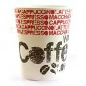 """Ποτήρι Χάρινο """"COFFEE LOVERS"""" 14 OZ"""