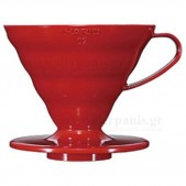 HARIO V60 02 Καφετιέρα Pour Over πλαστική διαφανής