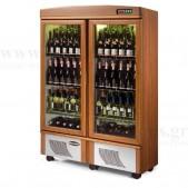 Ψυγείο Προβολής & Συντήρησης Κρασιών CANTINA 2 CHIARA