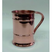 Χάλκινο Ποτήρι - Κανατάκι για Κοκτέιλ 480ml