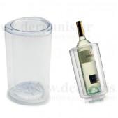 Ισοθερμικός Ψύκτης Κρασιού Ακρυλικός Διάφανος Ιταλίας