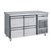 Ψυγείο Πάγκος με 4 Συρτάρια G/N Συντήρηση PG 139S