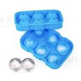 Παγοθήκη-Ice Βall Mold Σιλικόνης 6 Ice