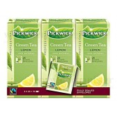 Pickwick Green Tea Lemon 3x25 τεμ.
